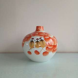 Jingdezhen Porcelain Vase with certificate height 24cm perfect