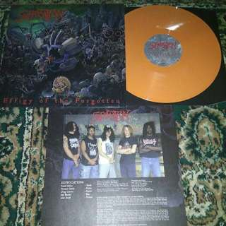 "Suffocation ""Effigy Of The Forgotten"" Vinyl LP Record"