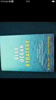 Hard-copy blue ocean strategy book