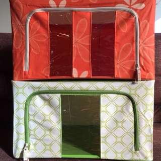Foldable box storage