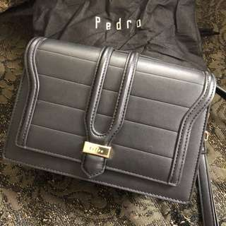 Pedro Black Small Sling Bag