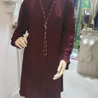 **Clearance Sale** Brand New Zara Basic Long Tunic/ Blouse