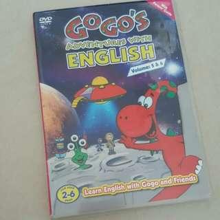 FIXED PRICE📬Original Gogo's Adventures With English Volume 5 & 6