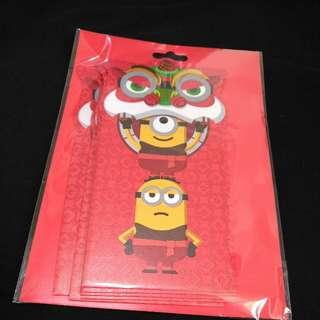 Universal Studios Singapore Minion Red Packets / Angbao