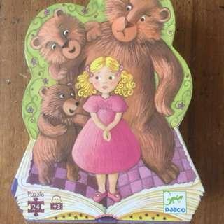 Goldilocks and the three bears puzzle
