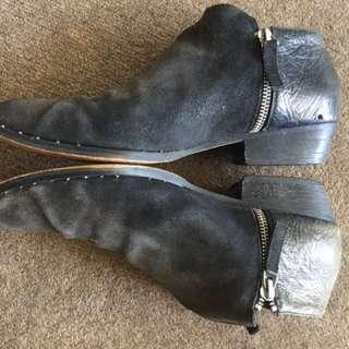 Senso Black Flat Boots