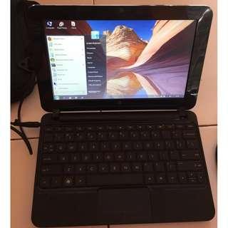 Notebook HP 210 Black Batangan mulus 98%
