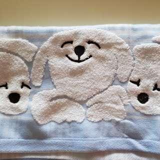 Soft towel with Dog cartoon