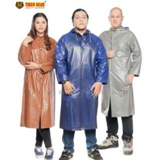 Musim Hujan Lagi Promo Jas Hujan Coat Big Top Tiger Head - 68258 Murah Berkualitas