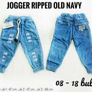 ripped jogger