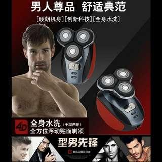鬚刨電動防水三刀頭男士鬍鬚刀充電式多功能套裝 (健身系列) (包Buyup自取站取貨) (舉國推廣系列) (#rep#) (Razor Electric Shaver Set Waterproof)