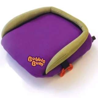 Bubble Bum Inflatable booster seat