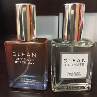 全新 CLEAN Ultimate Beach Coffret 2罐各30ml