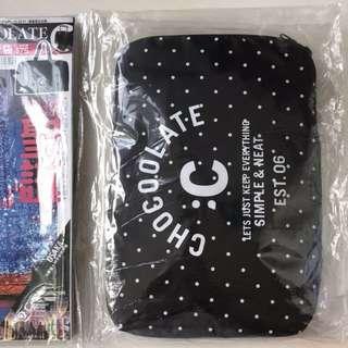U magazine + chocoolate 旅行袋