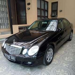 Marcedez Benz W211 E200 Compressor Black 2009 A/T