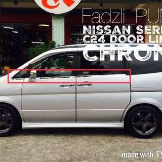 Nissan Serena C24 Door Lining Chrome