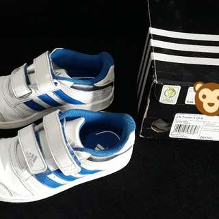 White Adidas Trainers for Boys (Orig with Box)