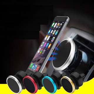 Magnetic phone holder air vent