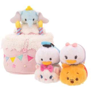 **買三送一** Disney Tsum Tsum 四週年 Winnie the Pooh Donald daisy