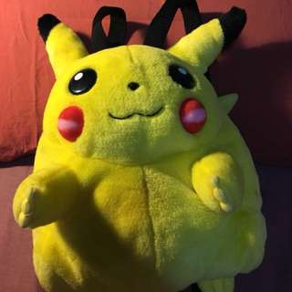 Vintage NINTENDO Pikachu bagPack ( large )