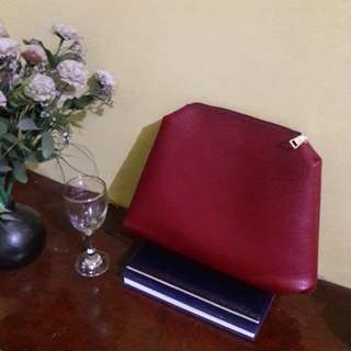 Leather Clutch (SF included)