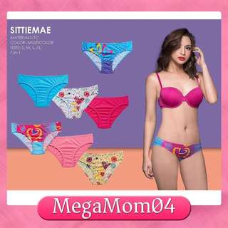 Mse new cotton 7N1 panty set