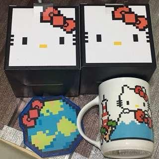2018 新板 Hello Kitty 杯(45蚊隻,80蚊對)