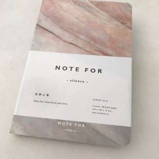 BN Marble Notebook