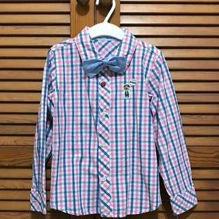 Boys Pastel Checked Shirt