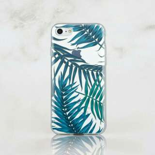 Summer Leaves Soft Clear Case