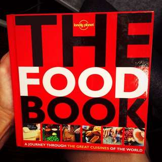 📕📖 The Food Book by Lonely Planet, Brand New, Unmarked, Perfect condition!