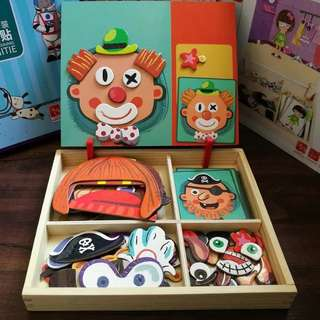 Magnetic kids toy