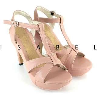 High heels merk Isabel, Baby Pink, Uk. 39
