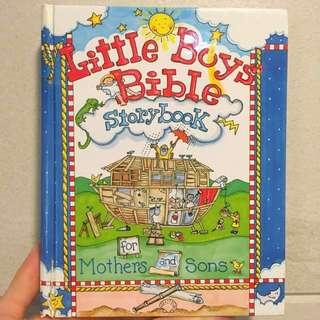 Little boys bible storybook 兒童聖經故事