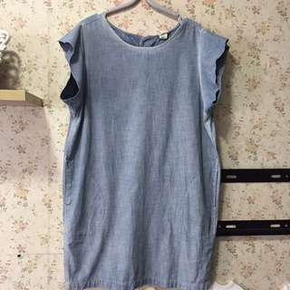 Original Levis short dress soft denim. Use twice