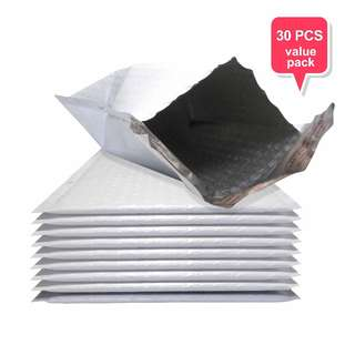 Polymailer Envelope with Bubble Wrap - 30pcs