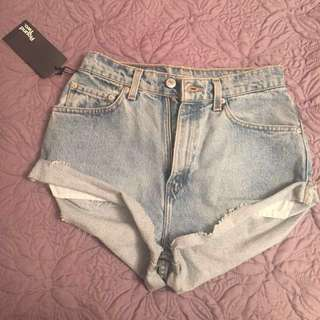 BNWT 6/8 denim shorts