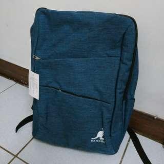 全新藍色質感後背包