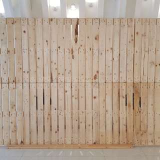 Renting of Pallet backdrop