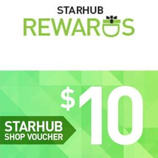 Starhub voucher at 50% off