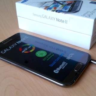 Samsung Galaxy Note 2 N7100 Black