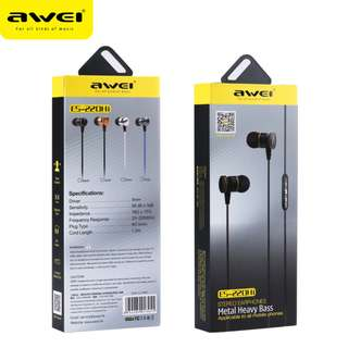 ⭐AWEI Clear Sound In-Ear Wired Headphone⭐