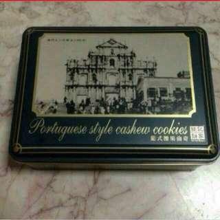 Cookie Tin Box x2