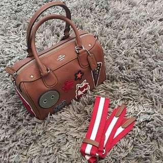 Coach Mini Bennett satchel RM500 including dustbag & paperbag coach