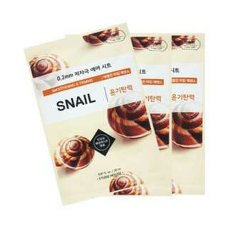 Etude house Air mask therapy (snail)