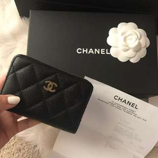 Chanel Wallet Authentic (small Leather Good)