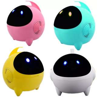 Cute Astros Luminous Bass Speakers - Pink, Blue, Yellow, White Colour