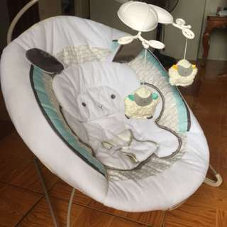 Little Lamb Bouncer with Calming Vibrations