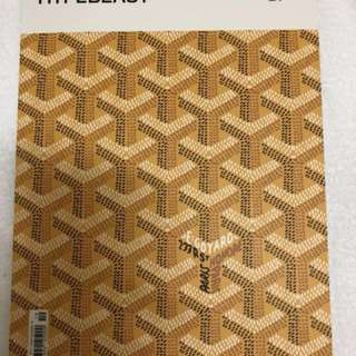 Goyard cover hype beast magazine. 絕版 givenchy lv