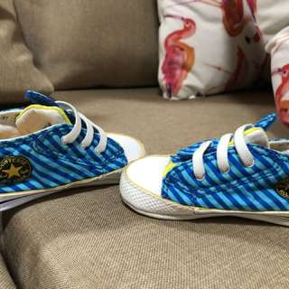 Authentic Converse Baby Shoes Size 4